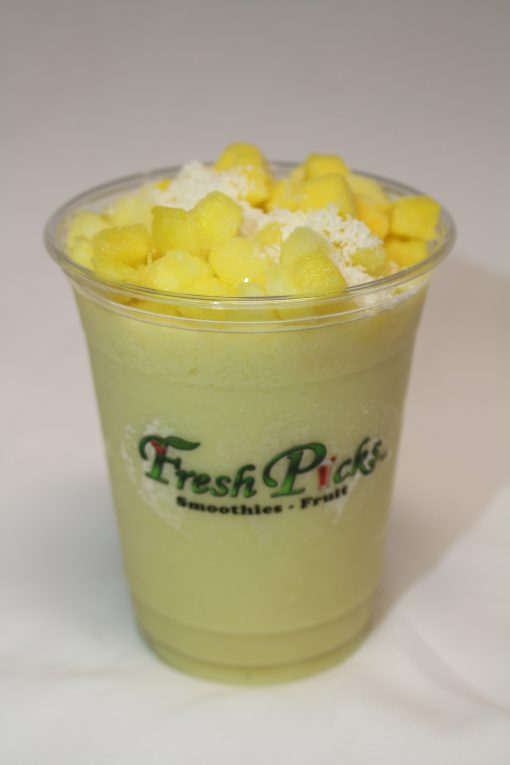 It is to be seen when a customer purchases this smoothie online
